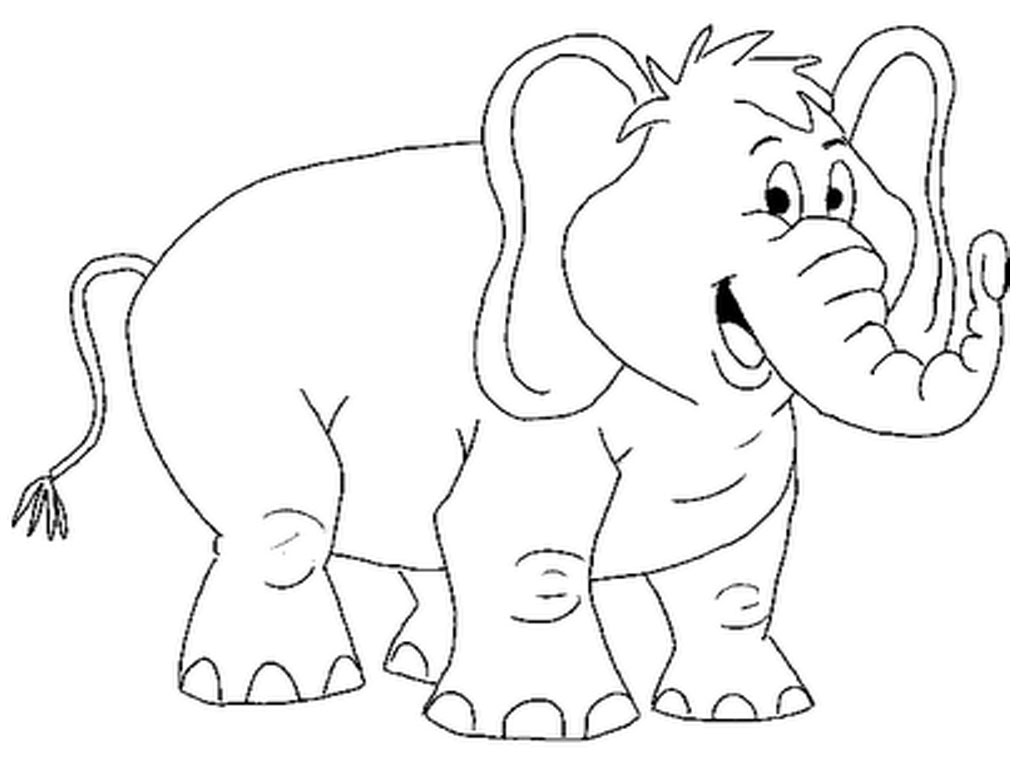 Coloring book pages of elephants - Colouring Pages Of Elephant