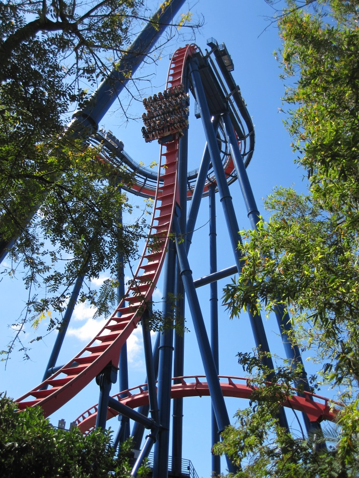 SheiKra - Busch Gardens, Tampa, Fl, USA 2010