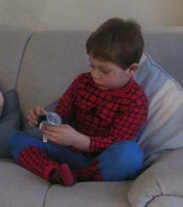 One of millions of Spidermen