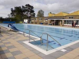 Jubilee Park Swimming Pool, Woodhall Spa, Lincolnshire