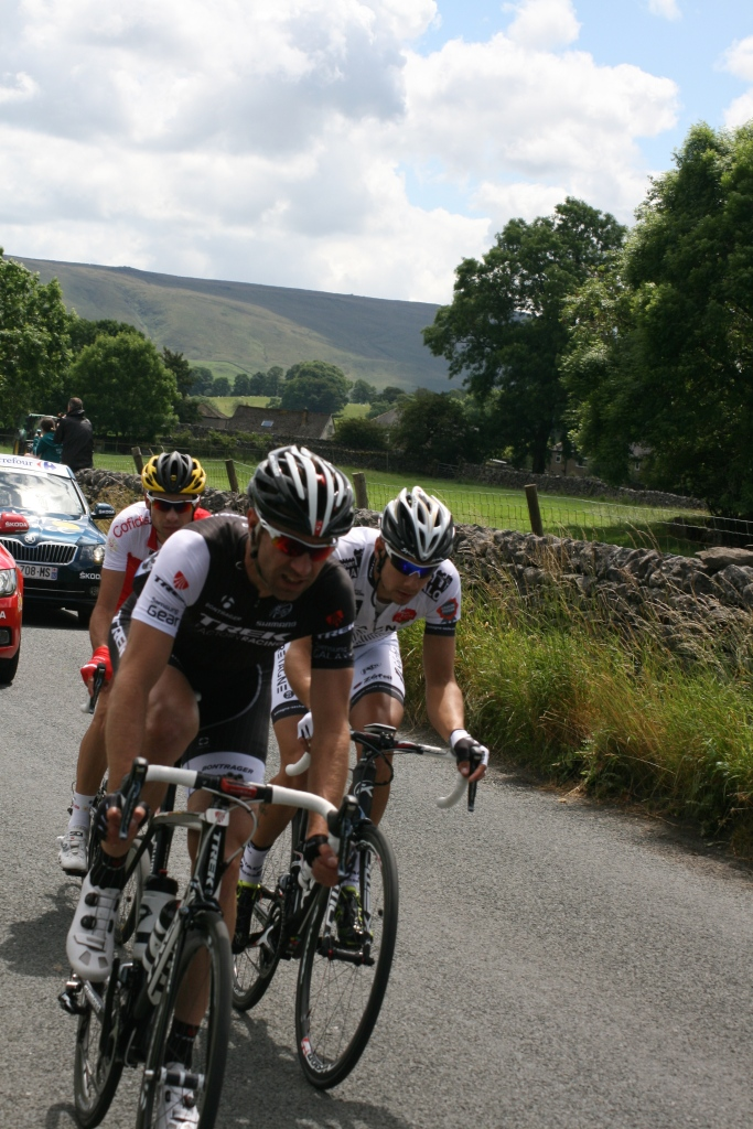 Jens Voigt out in front!