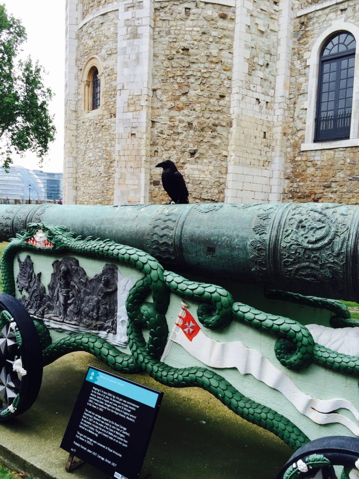 Ahh.. Quoth the raven 'Nevermore' (Tower of London)
